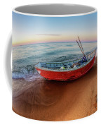 Red Skiff Coffee Mug
