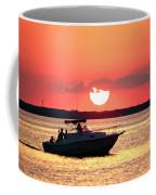 Red Sky At Long Beach Island Coffee Mug