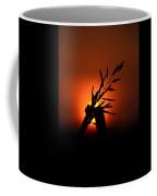 Red Sky At Morning Coffee Mug