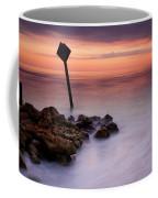 Red Sky Caution Coffee Mug