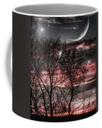 Red Sky Moon Coffee Mug