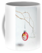 Red Snowman Bauble On A Branch Coffee Mug