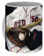 Red Sox Number Nine Coffee Mug by Jack Skinner