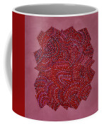 Red Spiral Coffee Mug