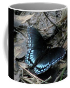 Red Spotted Purple Swallowtail Butterfly Coffee Mug