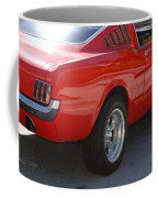 Red Stang Coffee Mug