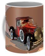 Red Stutz Coffee Mug