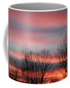 Red Sun Set Coffee Mug
