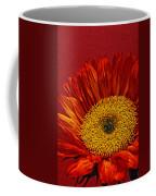 Red Sunflower Viii Coffee Mug