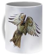 Red Tail Takeoff Coffee Mug