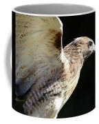 Red-tailed Hawk In Profile Coffee Mug