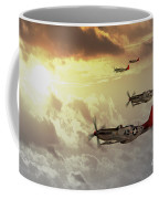 Red Tails Coffee Mug by J Biggadike