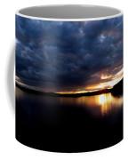 Red Toned Clouds Coffee Mug