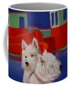 Red Trawlers Coffee Mug