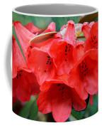Red Trumpet Rhodies Coffee Mug