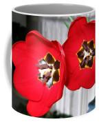 Red Tulip Duo Coffee Mug