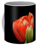 Red Tulip With Bud Coffee Mug