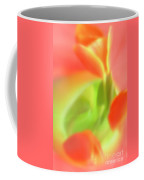 Red Tulips In Vase In Abstract Style #1. Coffee Mug