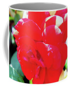 Red Velvet With Dewdrops  Coffee Mug
