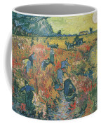 Red Vineyards At Arles Coffee Mug