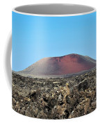 Red Volcano Coffee Mug