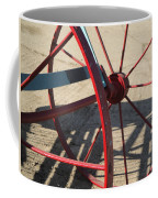 Red Waggon Wheel Coffee Mug