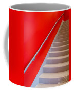 Red Walls Staircase Coffee Mug