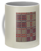Red, White & Blue Coverlet Coffee Mug