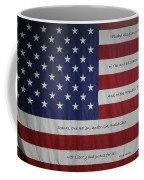 Red White And True Coffee Mug
