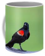 Red Wing Blackbird Coffee Mug