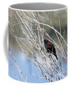Red Winged Black Bird At Chatfield Coffee Mug