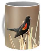 Red Winged Blackbird I I Coffee Mug