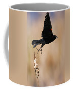 Red-winged Takeoff Coffee Mug