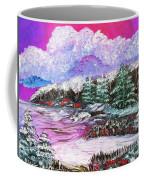 Red Winter Berries Coffee Mug