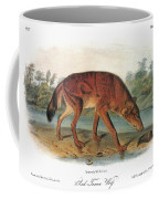 Red Wolf (canis Lupus) Coffee Mug