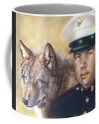 Red Wolf Coffee Mug