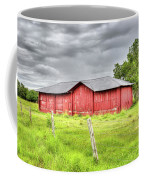 Red Wood Barn - Edna, Tx Coffee Mug