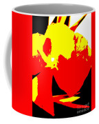 Red Yellow Abstract Coffee Mug