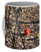 Redbird And American Golden Finch Coffee Mug