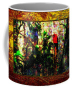 Redbird Sifting Beauty Out Of Ashes Coffee Mug