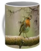Redbreast Bird Coffee Mug