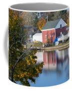 Redd's Pond Boathouse Marblehead Ma Massachusetts Coffee Mug