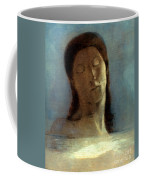 Redon: Closed Eyes, 1890 Coffee Mug