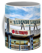 Redondo Beach Pier Closeup Coffee Mug