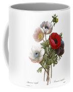 Redoute: Anemone, 1833 Coffee Mug by Granger