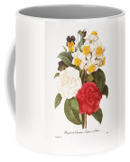 Redoute: Bouquet, 1833 Coffee Mug
