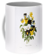 Redoute: Pansy, 1833 Coffee Mug by Granger