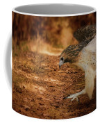 Redtail Morning Run Hawk Art Coffee Mug