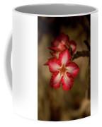 Redwhite Flower Coffee Mug