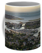 Redwood City, California Aerial Coffee Mug